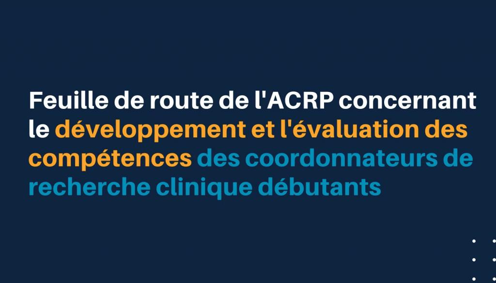 ACRP Roadmap