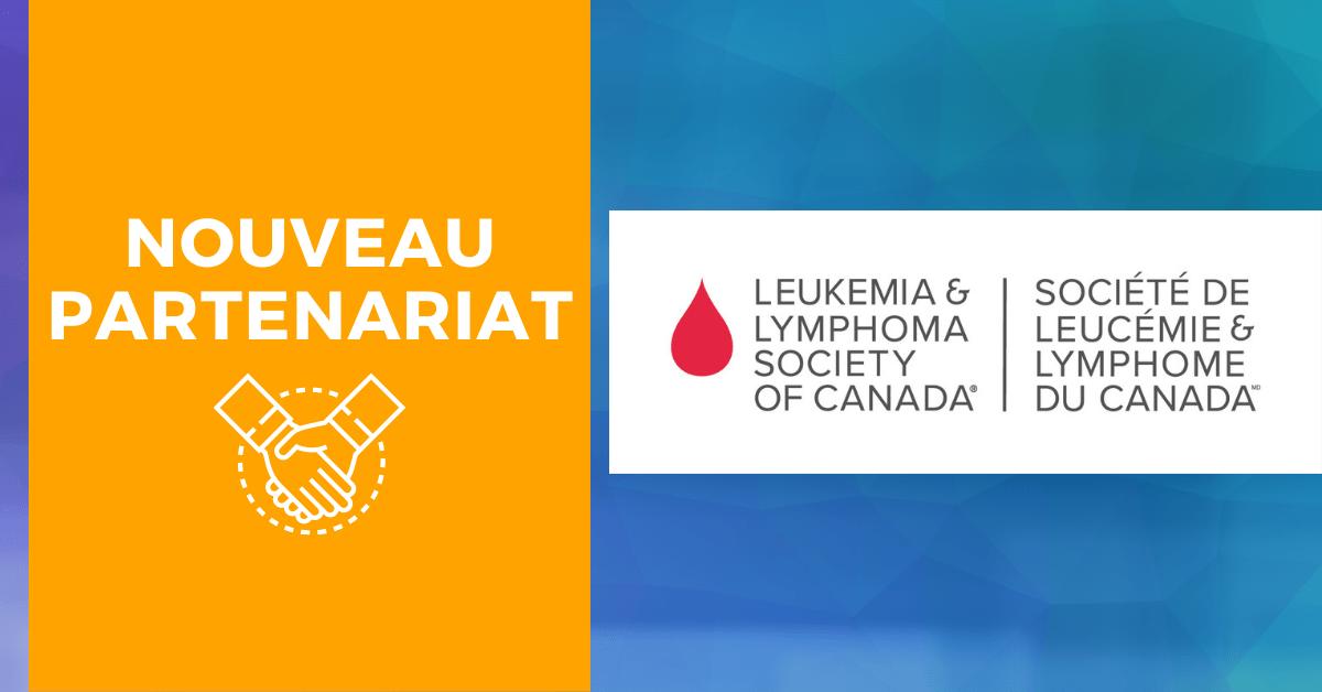 New partnership with the Leukemia & Lymphoma Society of Canada